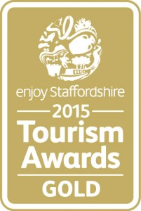 Enjoy Staffs Tourism Awards GOLD_2015
